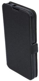 TakeMe Super Slim Shine Book Case For Samsung Galaxy J6 Plus J610 Black