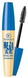 Dermacol Mega Lashes Waterproof Mascara 12.5ml Black