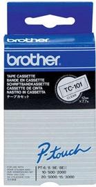 Этикет-лента для принтеров Brother TC-101, 800 см