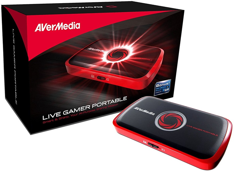 AverMedia Video Grabber Live Gamer Portable