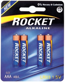 Rocket LR03-4BB AAA Batteries 4x