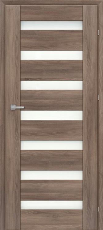 Полотно межкомнатной двери Classen Traffic M3, ясеневый, 203.5 см x 84.4 см x 4 см