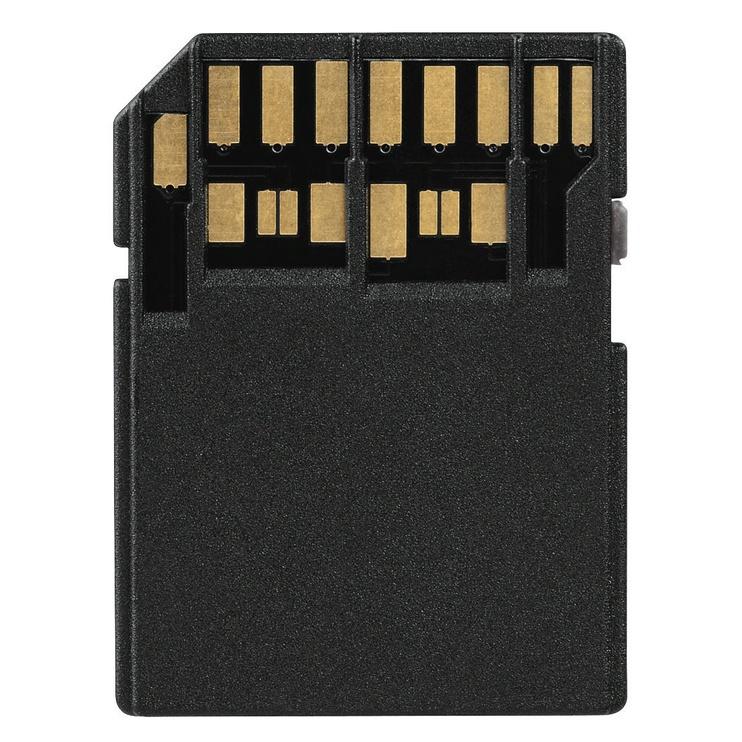 Hama Adapter microSD UHS II to SD UHS II Black