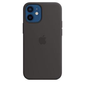Dėklas silikoninis iPhone 12 mini juoda