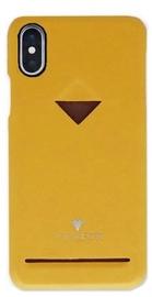 Vix&Fox Card Slot Back Shell For Apple iPhone X/XS Yellow