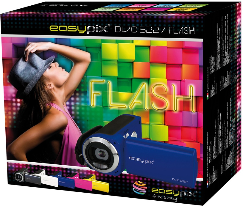 Easypix DVC5227 Flash Royalblue