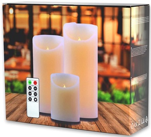 DecoKing Dripwax LED Candle Set 3pcs