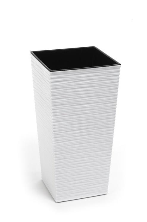 Lillepott Dluto, 40x40x75 cm, valge