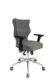Biroja krēsls Entelo Perto Chrome AT03 Grey