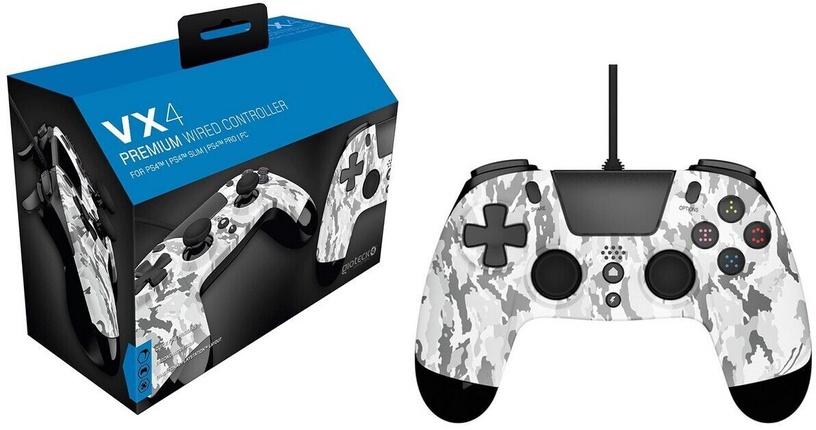 Игровой контроллер Gioteck VX4 Premium Controller Wired White Camo
