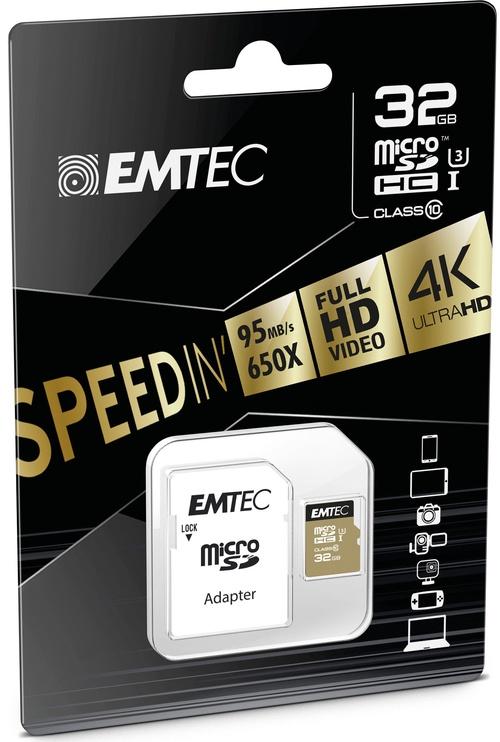 Emtec 32GB Speedin Micro SDHC UHS-I Class10