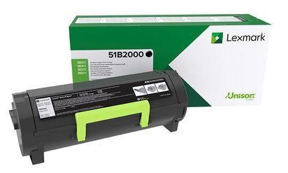 Lazerinio spausdintuvo kasetė Lexmark 51B2000 Monochrome Toner Cartridge Black