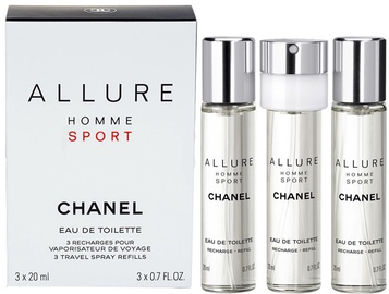 Tualetes ūdens Chanel Allure Sport 20ml x 3 EDT