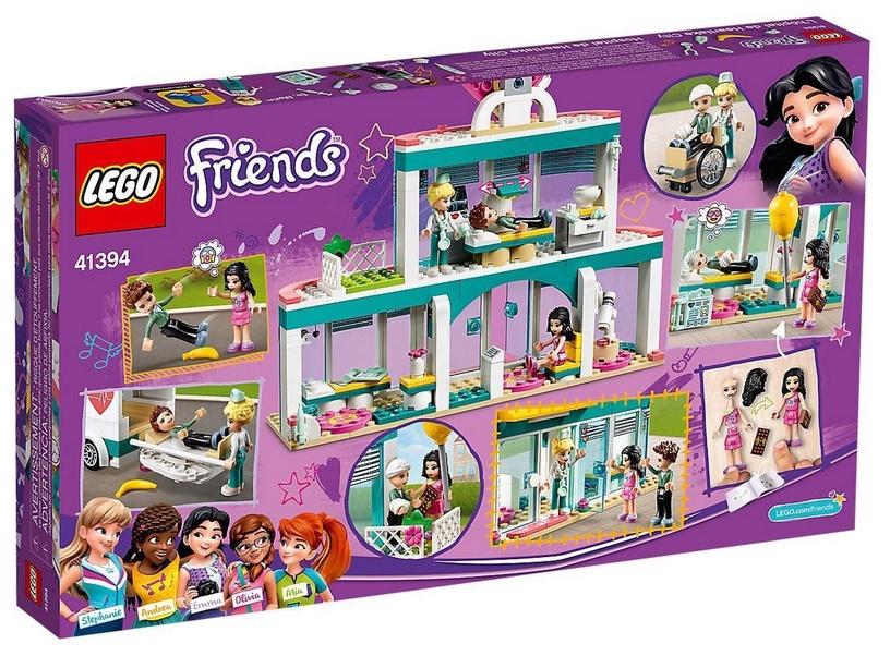 Конструктор LEGO Friends Heartlake City Hospital 41394 41394, 379 шт.