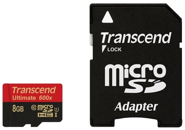 Transcend 8GB Micro SDHC Ultimate UHS-I 600x Class 10