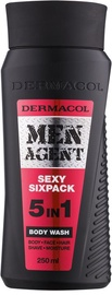 Dermacol Men Agent Sexy Sixpack Body Wash 5 in 1 250ml