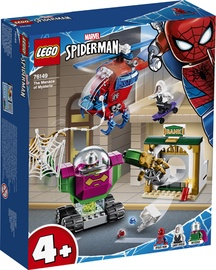 Konstruktorius Lego Super Heroes Spider Man The Menace Of Mysterio 76149