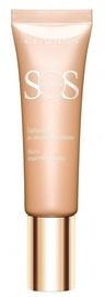 Grima bāze Clarins SOS Primer 02 Peach, 30 ml