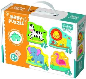 Puzle Trefl Baby Classic Animals On The Safari 36073T, 18 gab.