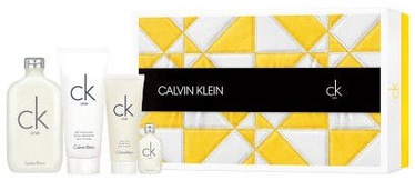Calvin Klein CK One 200ml EDT + 15ml EDT + 200ml Body Lotion + 100ml Body Wash Unisex