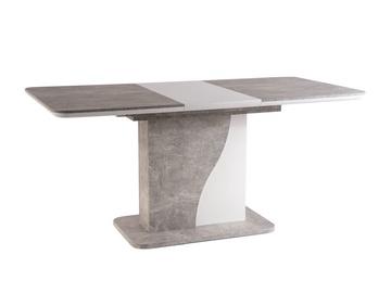 Обеденный стол Signal Meble Syriusz, серый, 1200x800x760мм