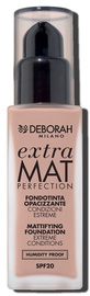 Deborah Milano Extra Mat Perfection Mattifying Foundation SPF20 30ml 01