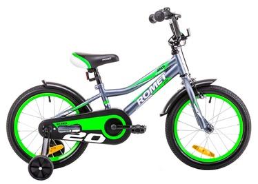 Vaikiškas dviratis Romet Tom 20 Graphite Green 19