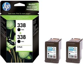 HP NO 338 Black 2-Pack