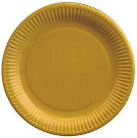 Pap Star Paper Plate 23cm 20pcs Yellow