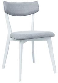 Стул для столовой Signal Meble Karl White/Grey, 1 шт.