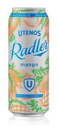 Alus Utenos Radler Mango 0%, 0.5 l