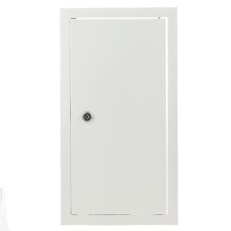 Glori ir Ko Access Panel 200x400 White With Key Lock