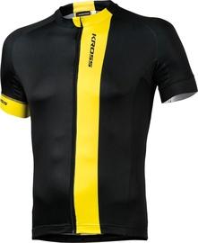 Kross Pave Jersey Black Yellow XL