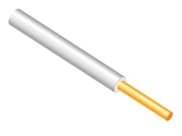 Lietkabelis PV-1/H07V-U, 1 x 6 mm²