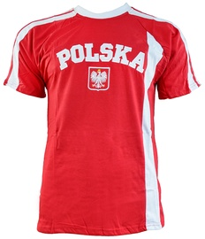 Футболка Marba Sport Poland Replica Cotton T-shirt Red XL