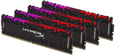 Kingston HyperX Predator RGB 64GB 3200MHz DDR4 CL16 Kit Of 4 HX432C16PB3AK4/64