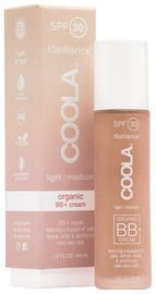 BB sejas krēms Coola Rosilliance Organic BB+ SPF30 Light Medium, 44 ml