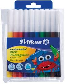 Pelikan Fibre-Tip Pens Colorella Star Triangular 10pcs 985663