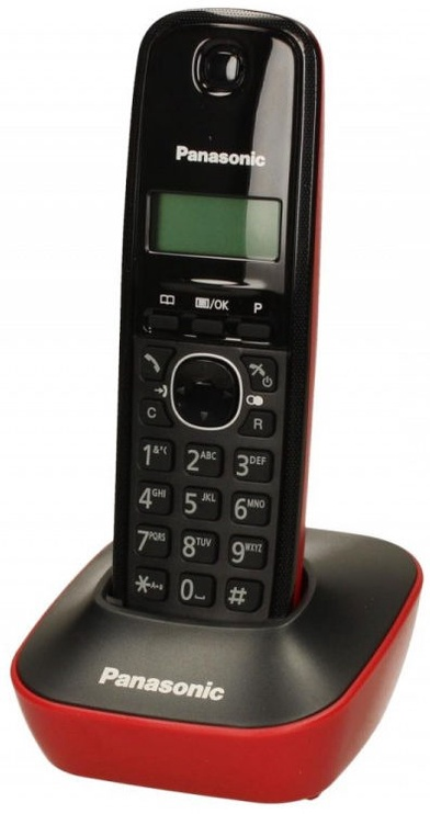 Panasonic KX-TG1611 Black/Red