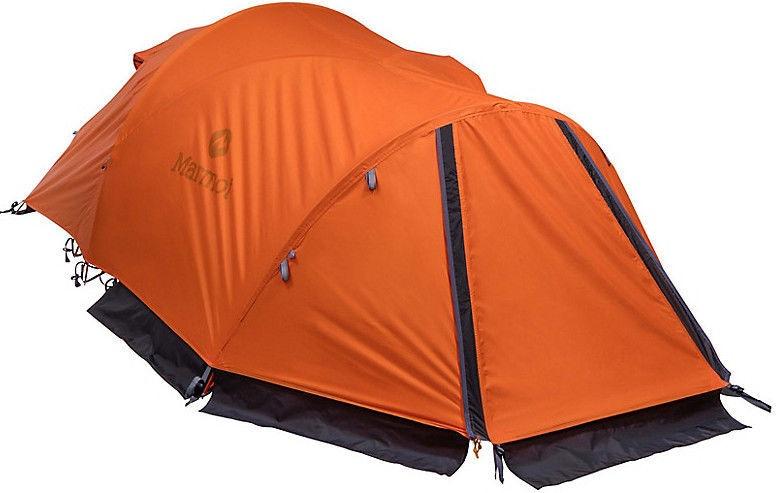 Divvietīga telts Marmot Thor 2P 889169900129, oranža/pelēka