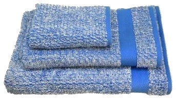 Ardenza Melange Terry Towels Set 3pcs Blue