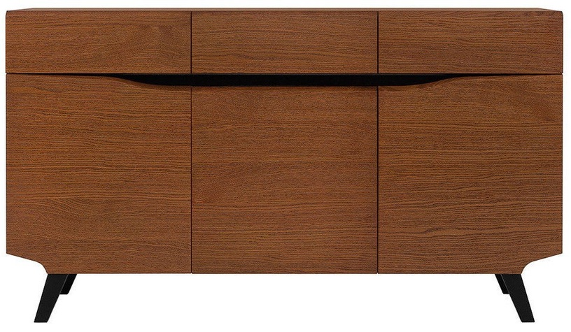 Black Red White Madison Chest Of Drawers KOM3D3S Brown Oak
