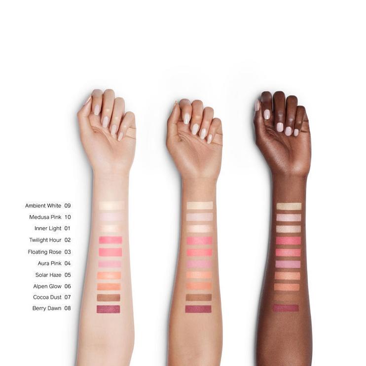 Skaistalai Shiseido InnerGlow Cheek Powder 02, 4 g