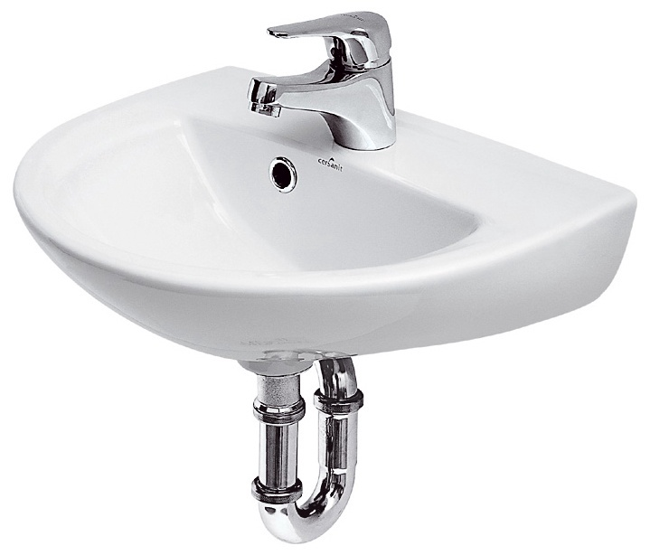 Раковина Cersanit President 445x350mm White