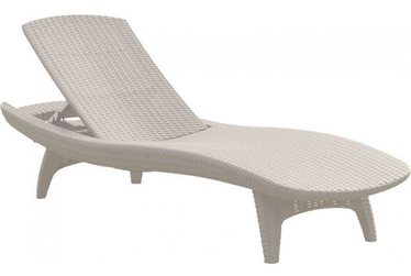 Keter Pacific Sun Lounger White