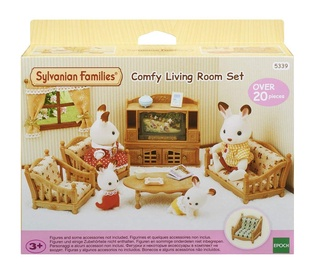 Epoch Sylvanian Families Comfy Living Room Set