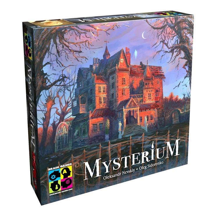 Stalo žaidimas Brain Games, Mysterium