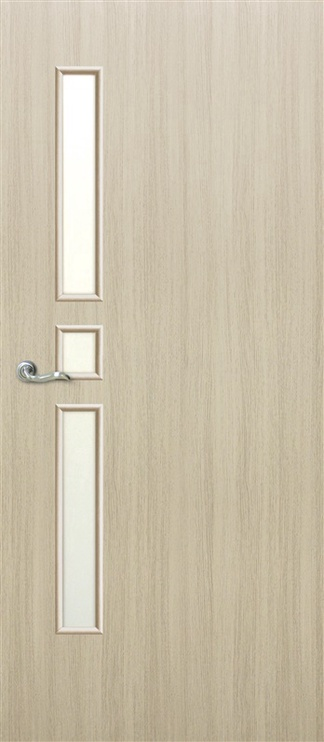 Vidaus durų varčia Omic Comfort, balinto ąžuolo, 200x80 cm