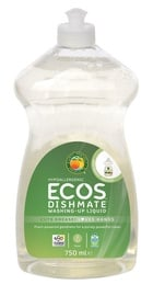 ECOS Washing Up Liquid Dishmate Pear 750ml