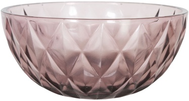 Kauss Home4you Coral Glass Bowl 22cm Purple